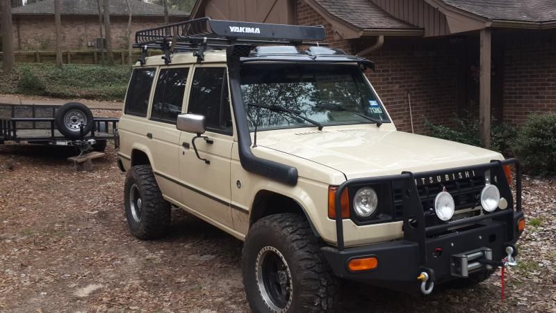 New build 1991Pajero 4x4 and OffRoad