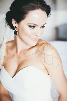 Image Result For Bridal Jewellery Strapless Dress