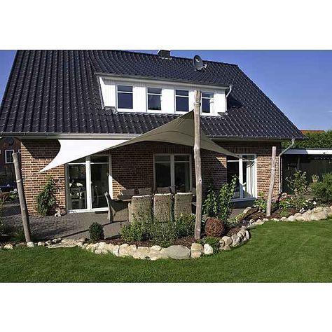 Sonnensegel 3d 648 X 466 Cm In Beige Sonnensegel Garten Sichtschutz Garten Sonnenschutz Garten