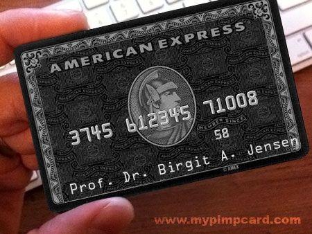 MyPimpCard com | Fake Black Card generator - Get a Black Card credit