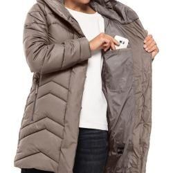 Photo of Jack Wolfskin Windproof Pointer Jacket Women Kyoto Coat Women S Gray Jack WolfskinJack Wolfskin