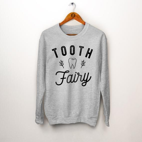 Dentist Gift. Tooth Fairy Sweater. Dental Assistant. Dental Hygienist. Rdh Gift. Gift for Dentist. Dental Gift. Dental Student Gift #dentalassistant