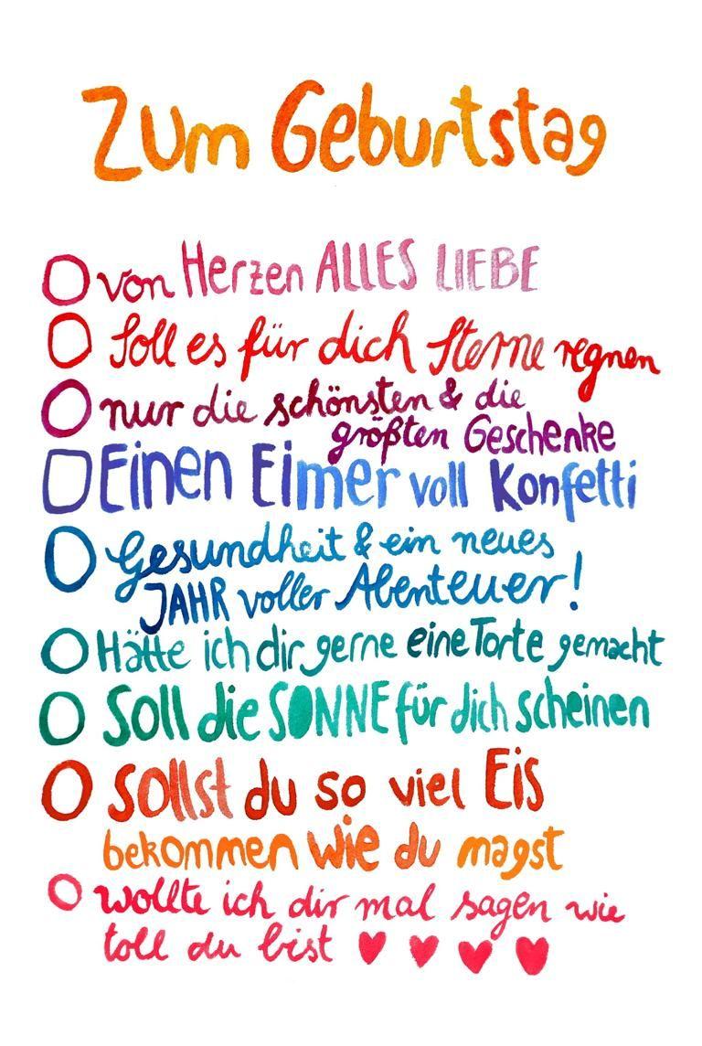 Frauottilie Gluckwunschkarte Geburtstag Postkarte