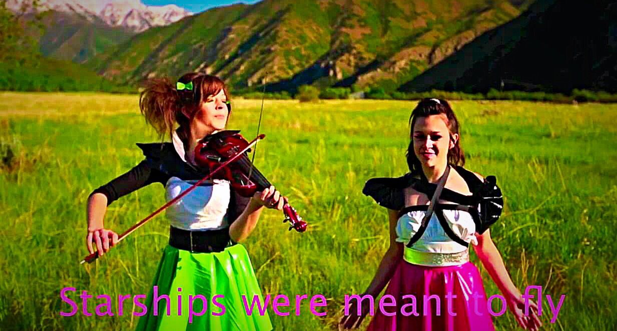 Singing with Violinist Lindsey Stirling
