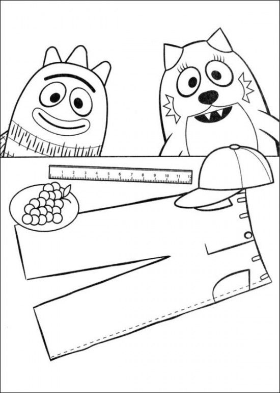 Yo Gabba Gabba Coloring Page   #Coloring #Pages for Y☼u   Pinterest ...