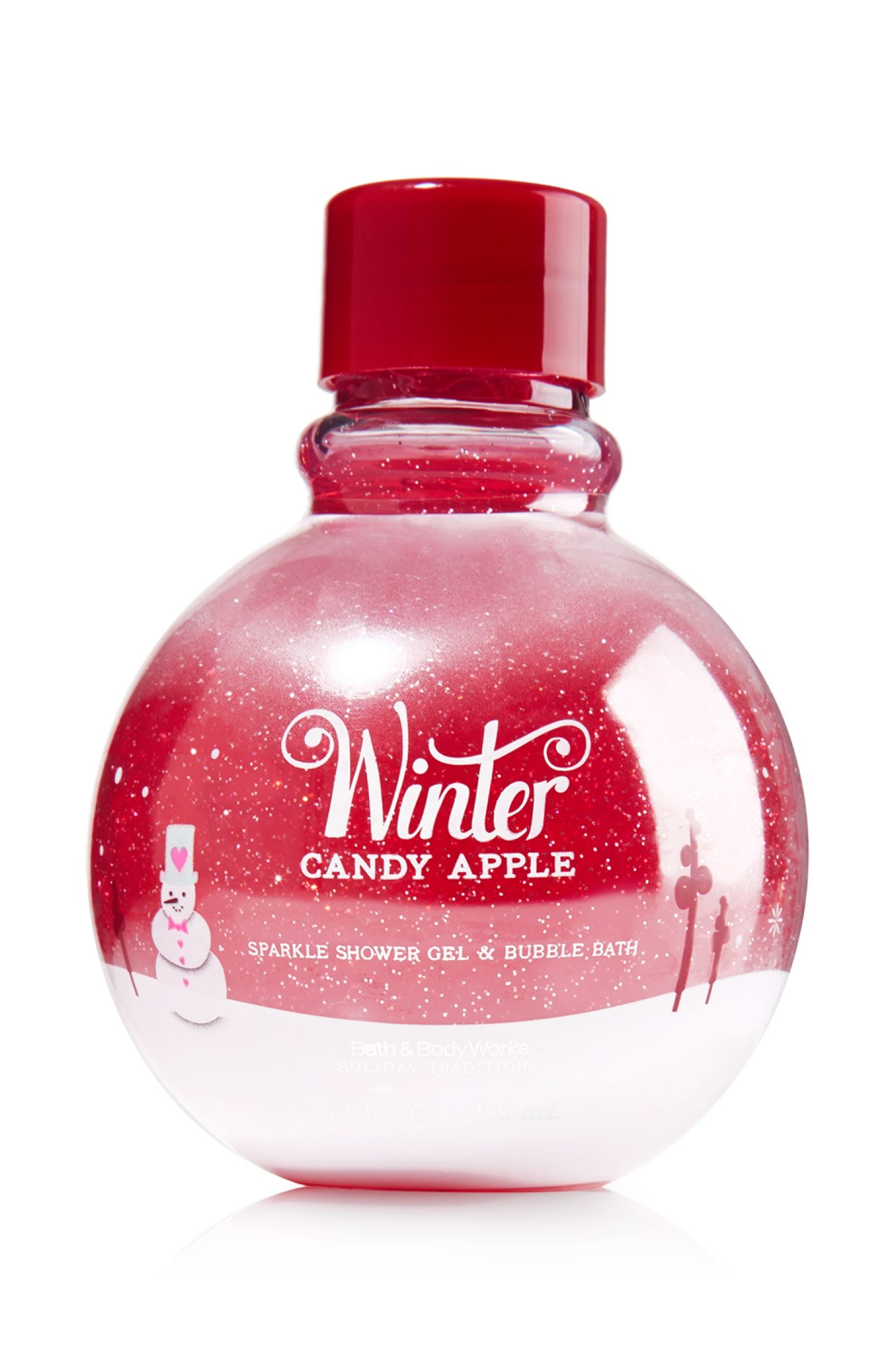 Winter Candy Apple Sparkle Shower Gel Amp Bubble Bath