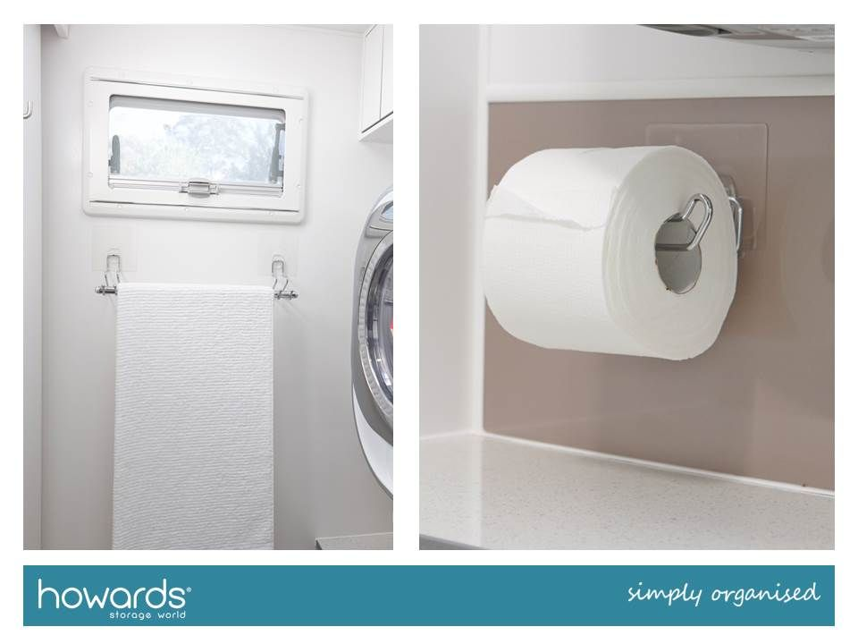 3912c766d38eb From towel rails to toilet roll holders, i-hooks are incredibly useful and  reliable in your caravan. See the full range at Howards Storage World.