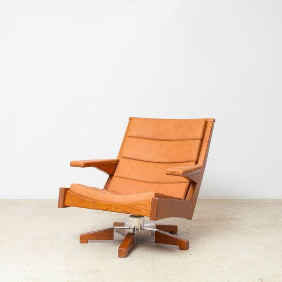 Saquarema Rotating Armchair by Carlos Motta