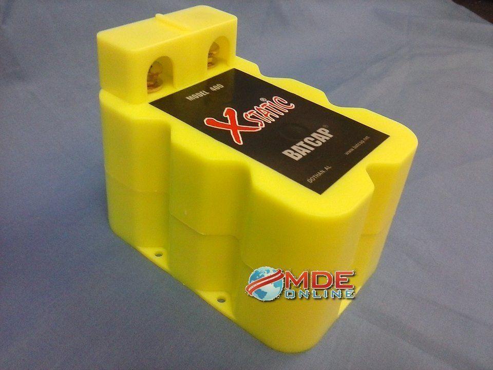 NEW! Batcap Model X400 Xstatic 400Amp = to 400 farad Free