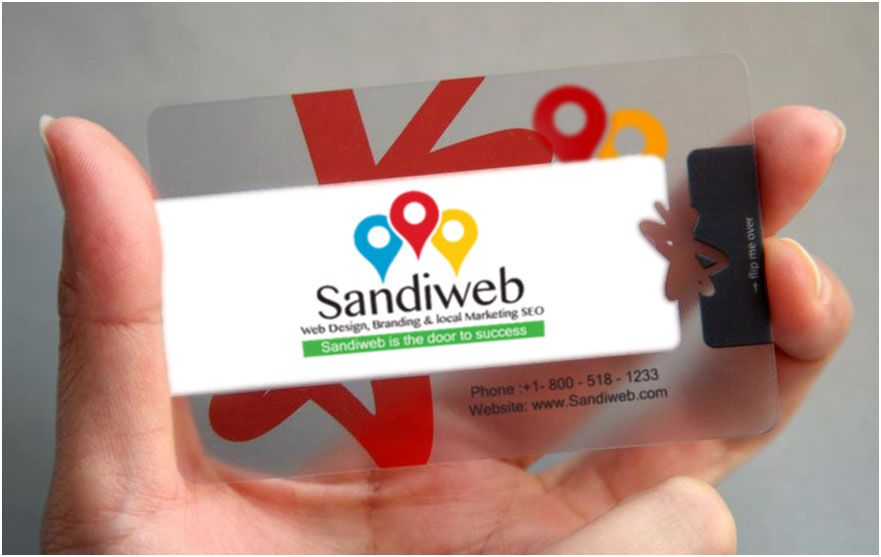 San Diego Business Cards Plastic Business Cards Pinterest