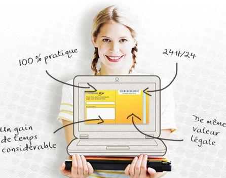 lettre recommandée en ligne Lettre Recommandée en ligne   Boutique Particuliers La Poste  lettre recommandée en ligne