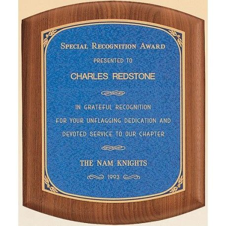 Reward a job well done with this standout plaque! A classy wooden - job well done
