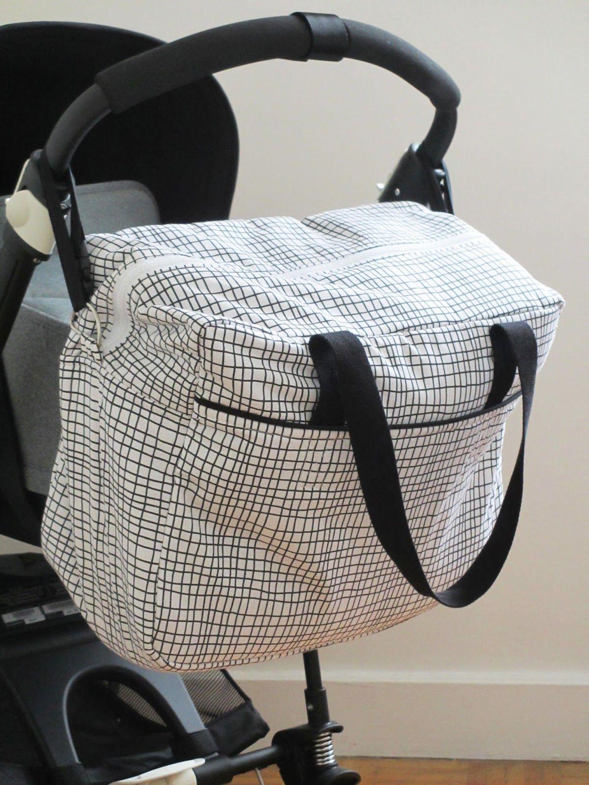 diy tuto sac langer ou sac weekend diaper bag nursing bag or weekend bag tutorial with matelas. Black Bedroom Furniture Sets. Home Design Ideas