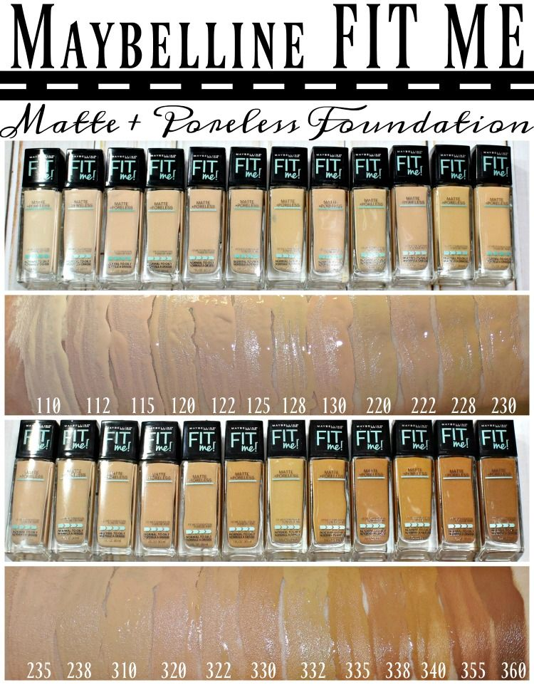 Maybelline® FIT ME!® Matte + Poreless Foundation & Powder