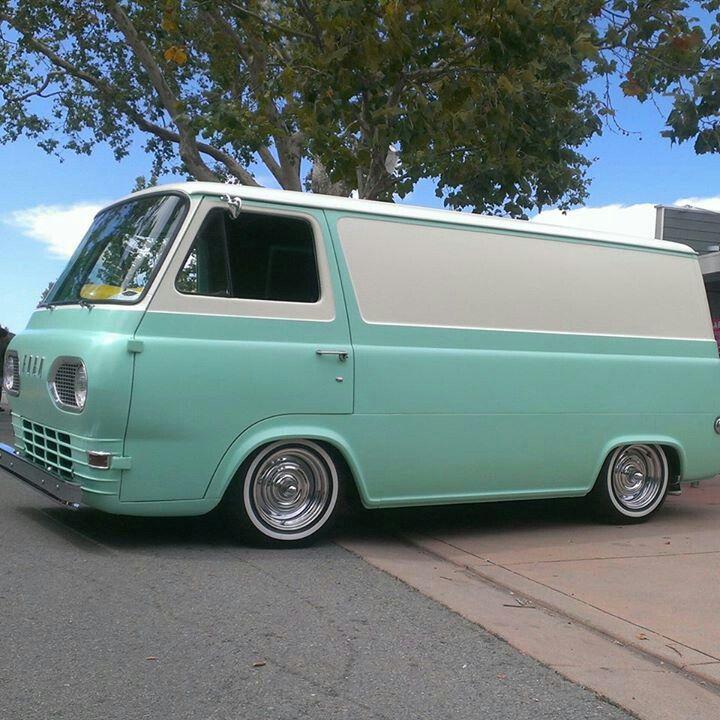 1964 Econoline Panel Van No Door Van Ford Van Panel Truck