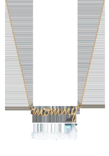 9b0ee4b0217f Kay Wicks - 14k Gold Mommy Necklace