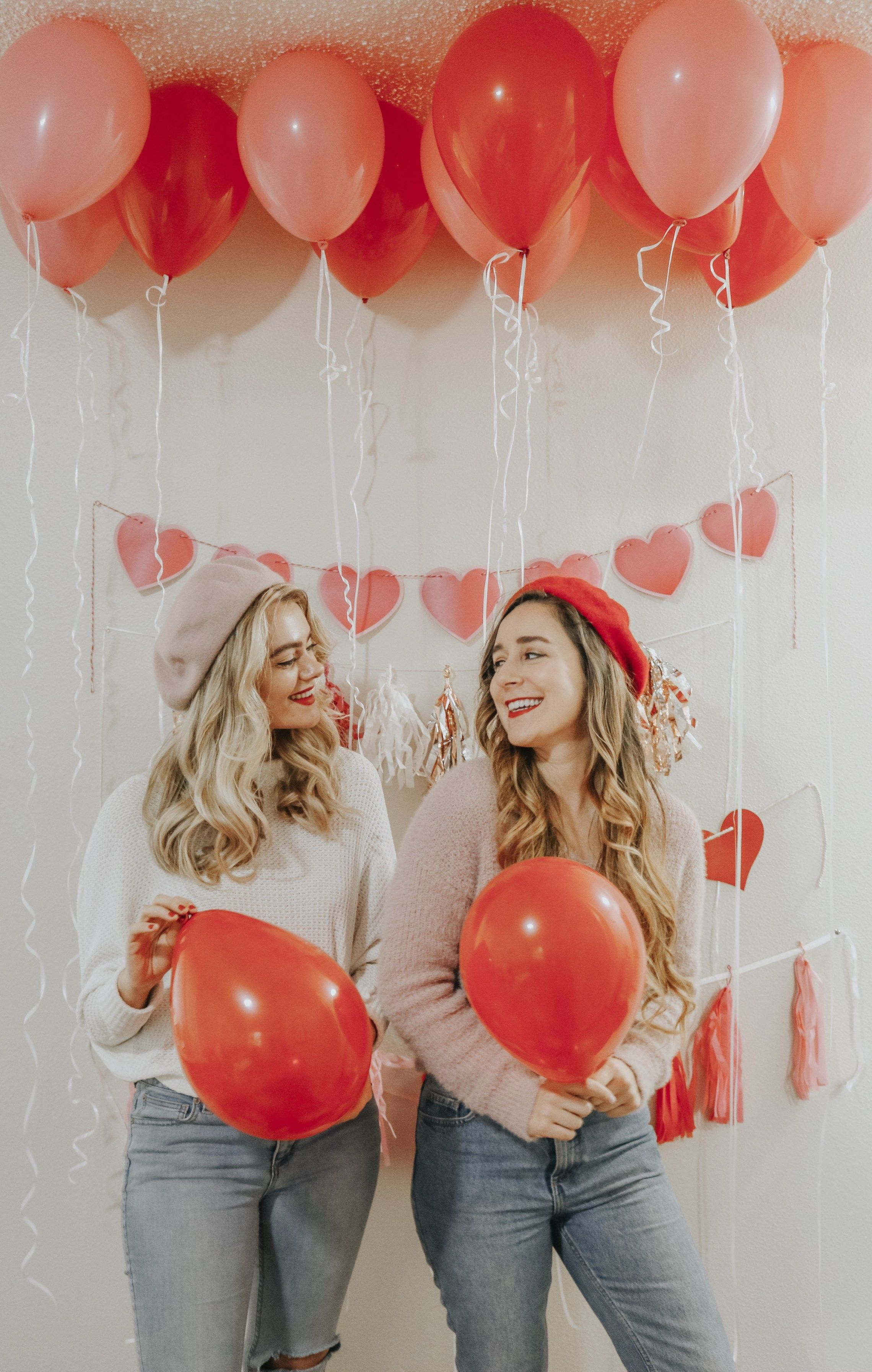Galentine S Day Guide How To Throw The Perfect Galentine S Day Party Valentines Party Decor Valentines Party Galentines Party
