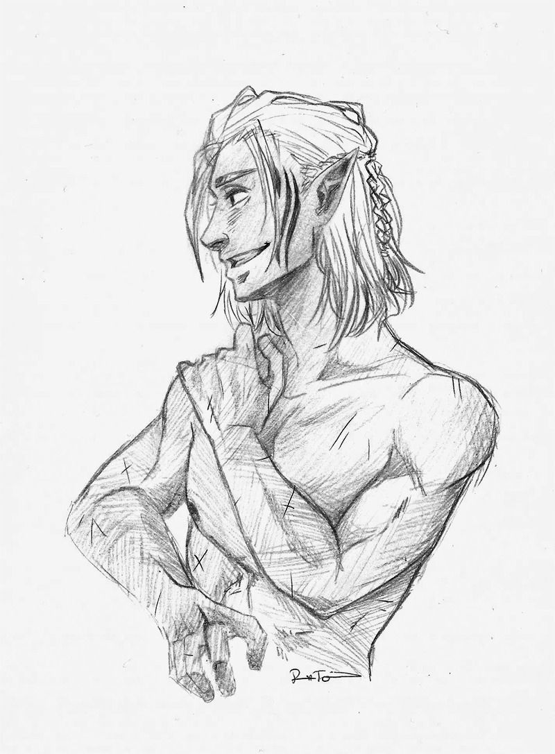 Breaks The Door Did Someone Say Zevran Smugly Smiles At Lithlad Dragon Age Series Dragon