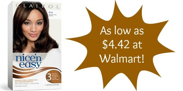 Walmart Clairol Hair Color Only 4 42 Become A Coupon Queen Clairol Hair Color Clairol Hair Color