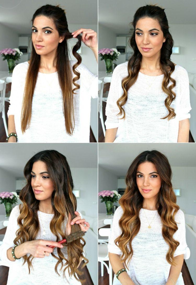 Die Frischen Locken Zum Schluss Kurz Durchkammen Beauty Haar