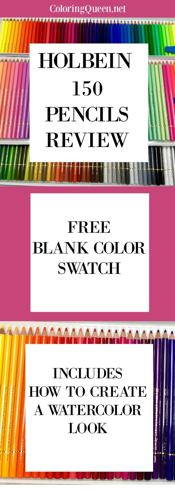 Holbein colored pencils 150 pc set review colour chart pc and see the holbein colored pencils 150 pc set review including watercolor effect and download your own colored pencil tutorialcolour chartcolored nvjuhfo Choice Image