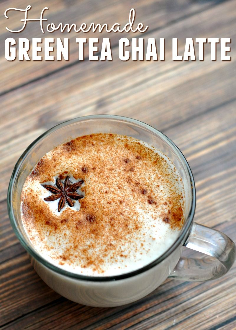 Homemade Green Tea Chai Latte Recipe Recipe Chai Latte Recipe Latte Recipe Chai Latte