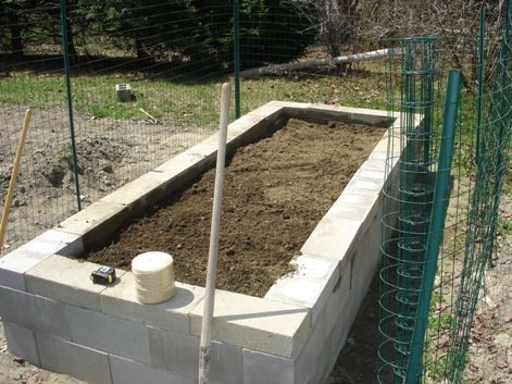 Sweet Diy Project How To Build A Concrete Block Raised 400 x 300