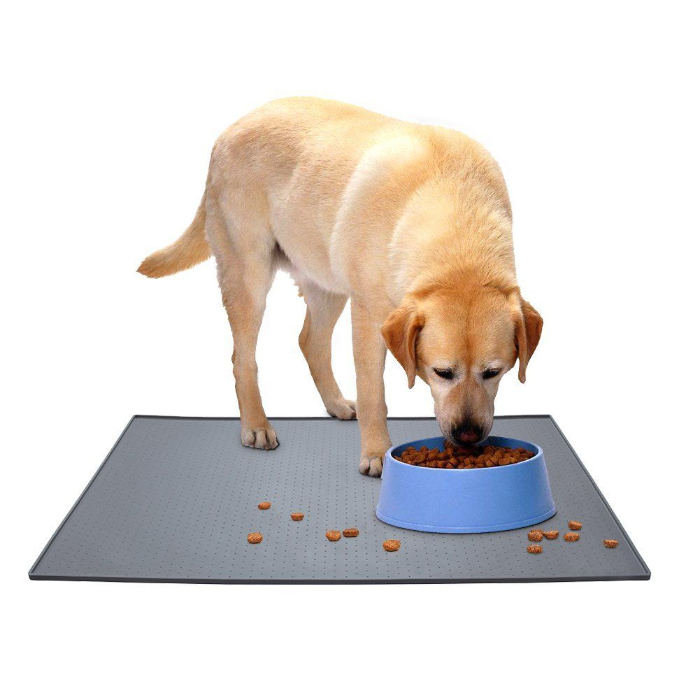 pet dog accessories mats products dax for feeding mat large bowl rubber cat waterproof silicone kitnewer
