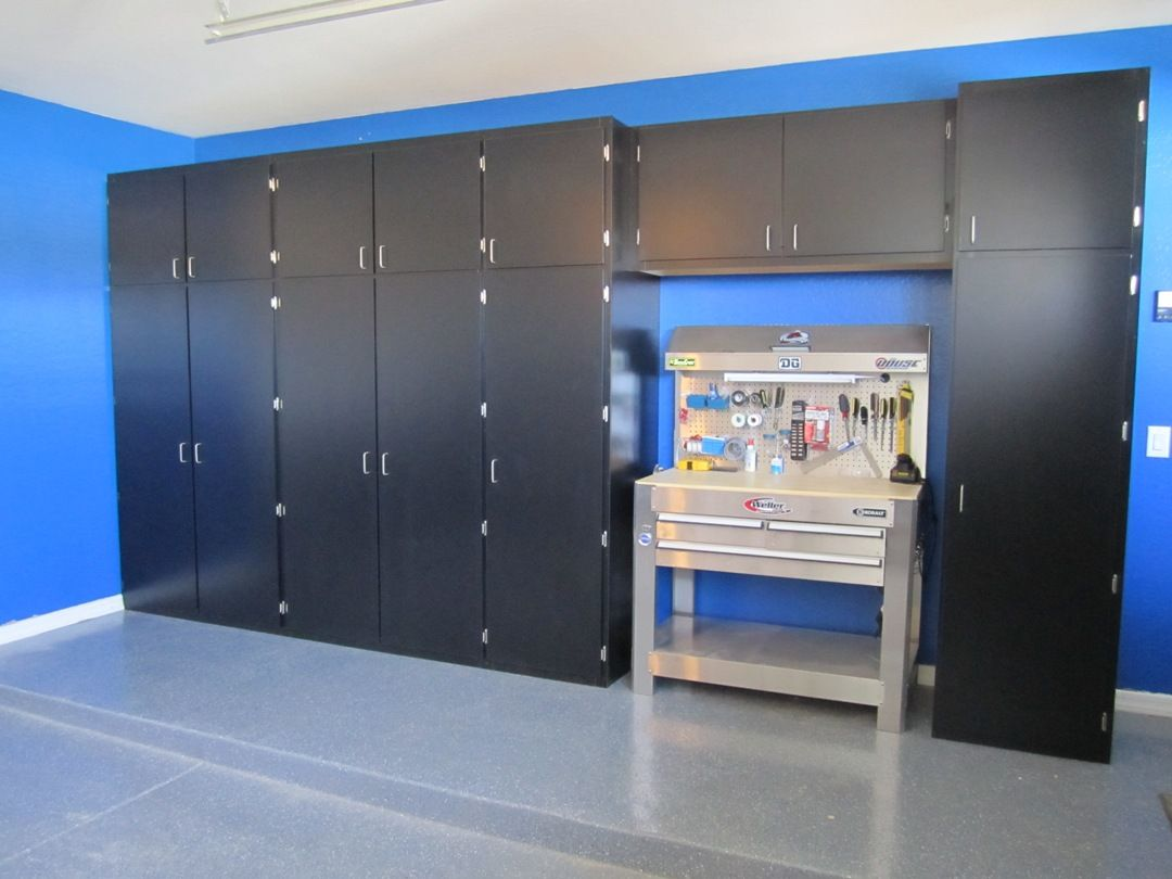 Diy garage cabinets to make your garage look cooler diy garage diy garage cabinets to make your garage look cooler solutioingenieria Choice Image