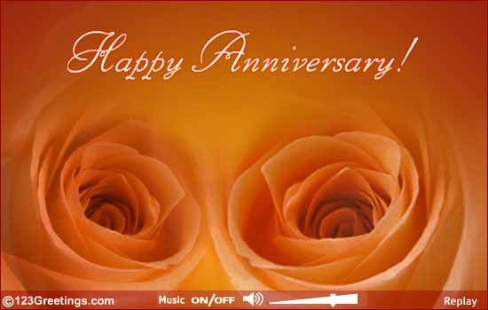 An Ecard To Wish A Very Happy Wedding Anniversary Free Online Special Ecards On