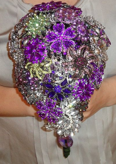 steampunk bouquets   ... brooch-bouquet-made-to-order   Rostollan and  Hamman Steampunk Wedding 5aa27c60e77c