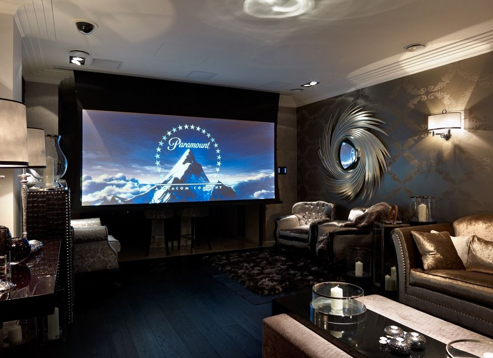 Specially Built Home Cinema In The Concept Interiors Showroom In Adorable Design Home Theater Concept