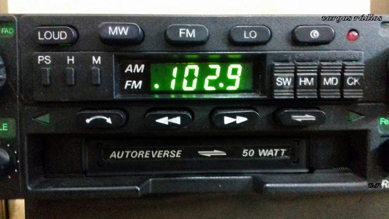 Bosch Rio De Janeiro 1 Radio Toca Fitas Auto Reverse Teste De