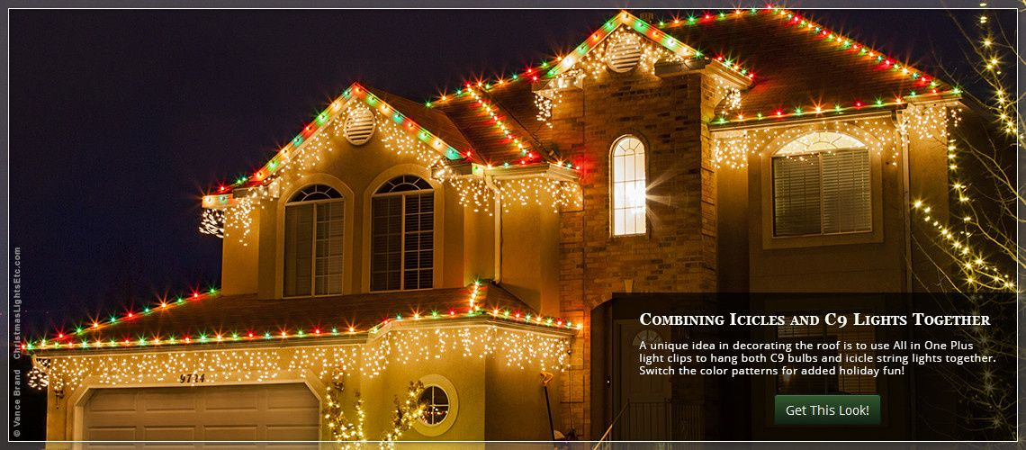 Outdoor Christmas Lights Ideas For The