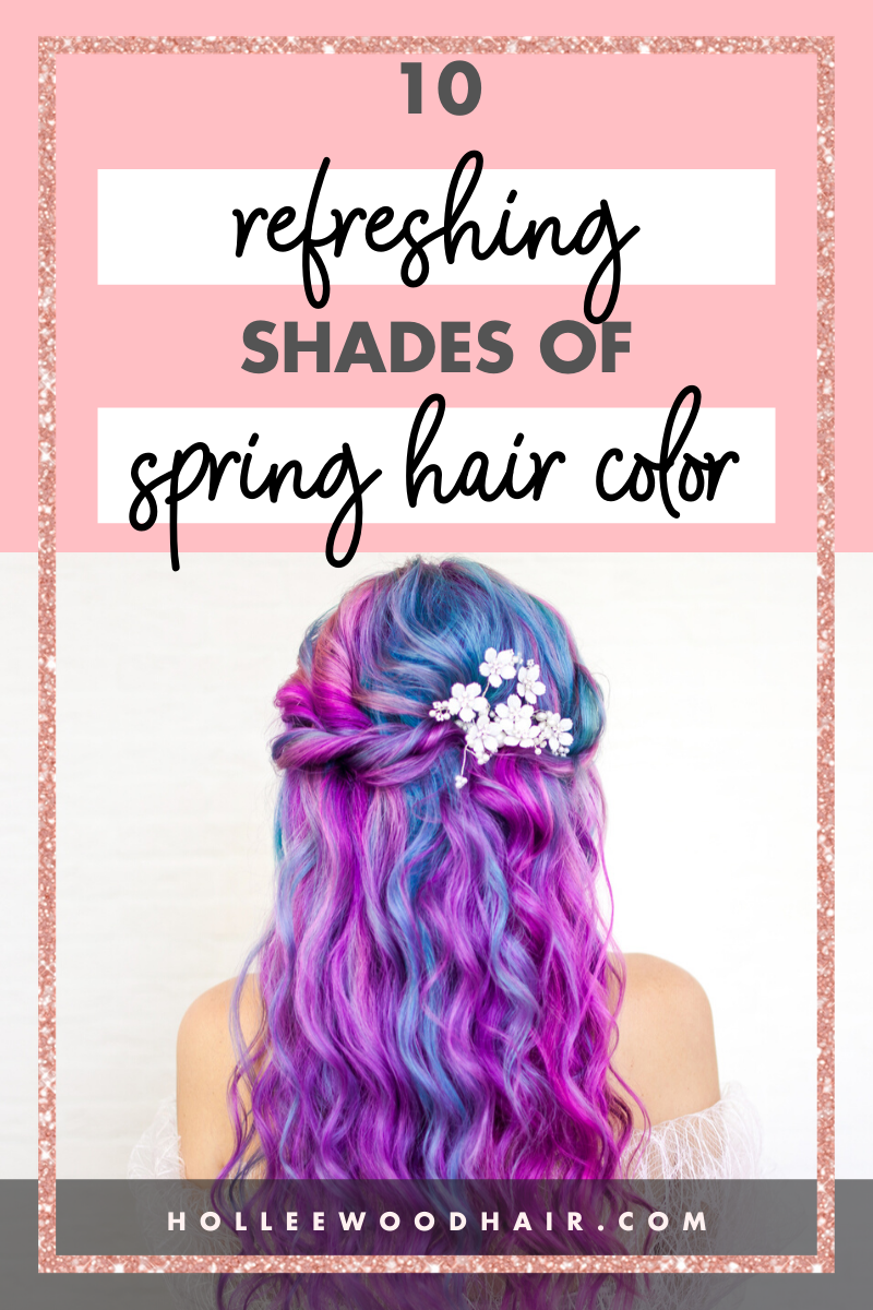 10 Refreshing Shades of Spring Hair Color ・2020 Ultimate Guide