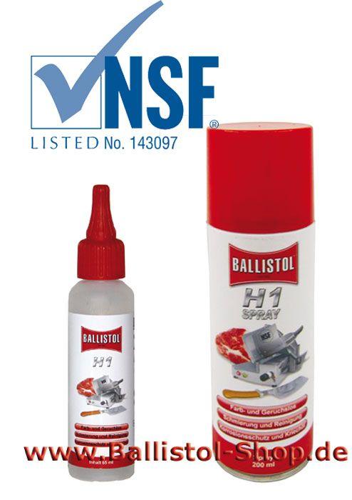 Ballistol H1 Spray Schmierol Im Lebensmittel Bereich