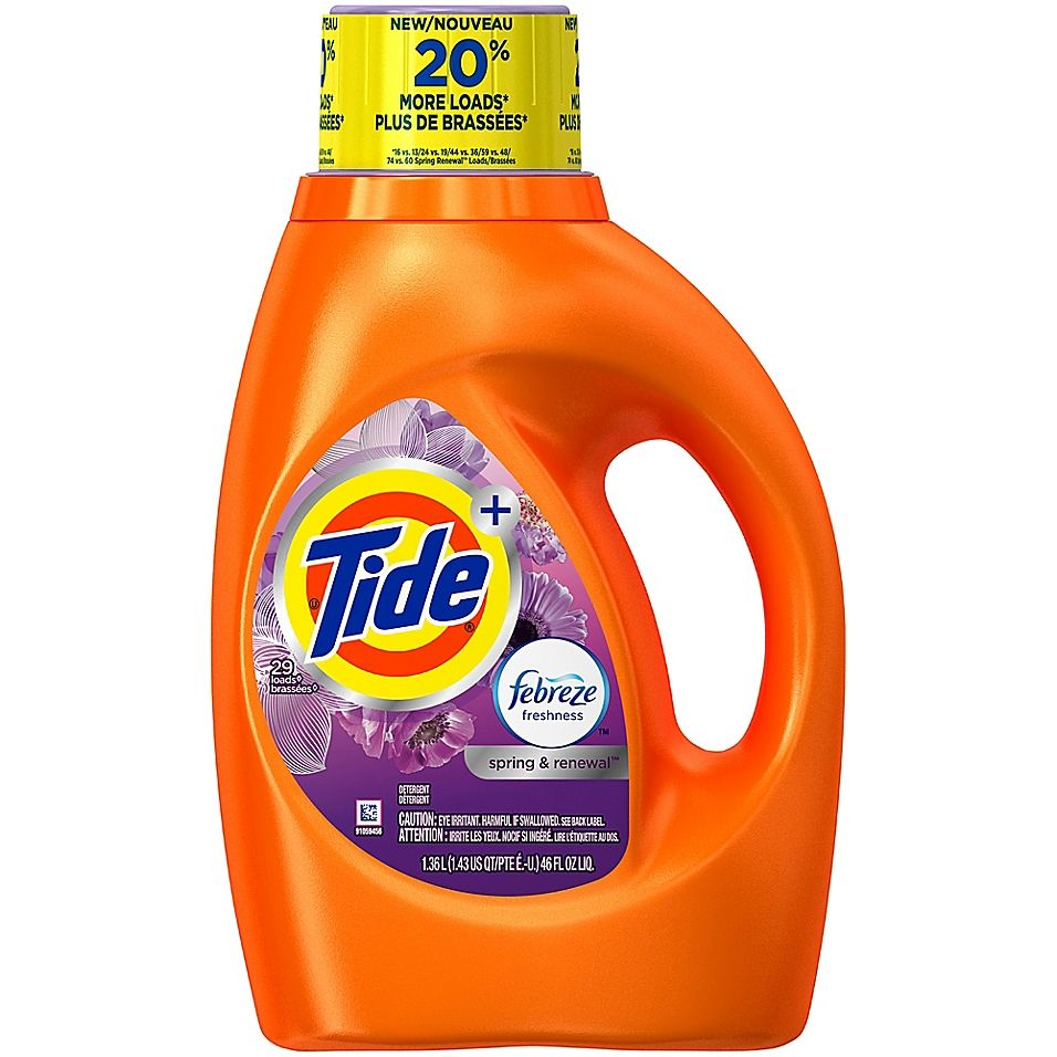 Tide 46 Oz Febreze Freshness Laundry Detergent In Spring And