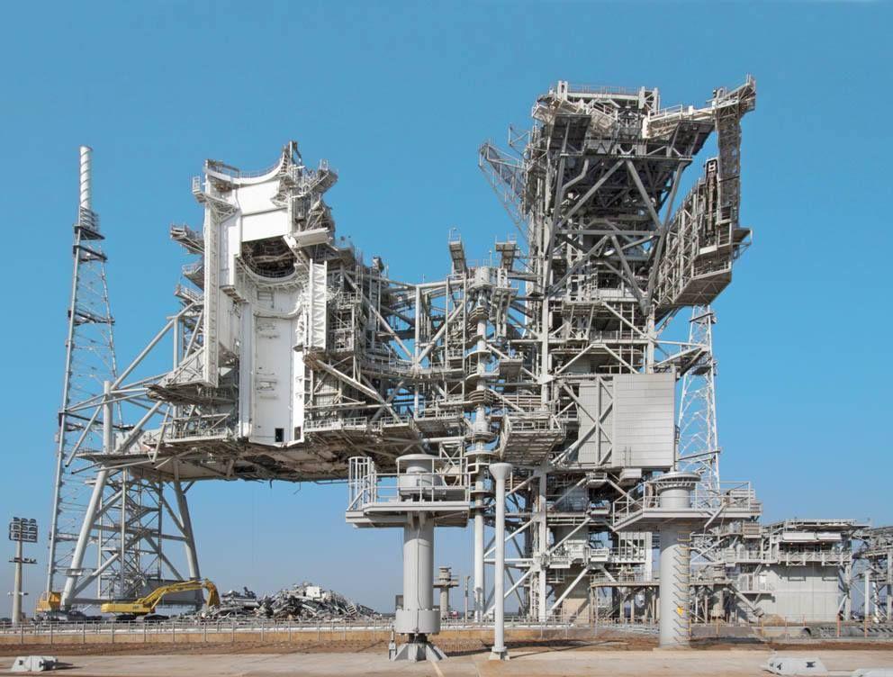 NASA Kennedy Space Center, Shuttle launch pad? Via blogger Eric Tabushi.