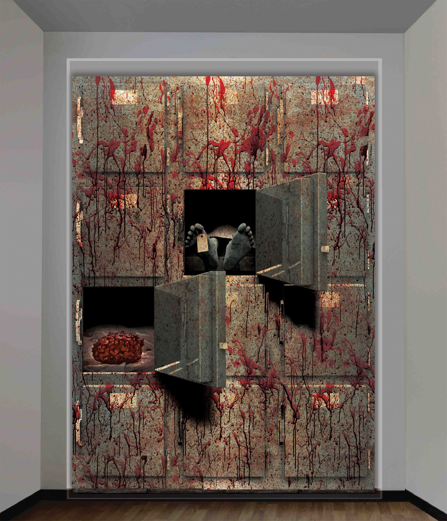 Morgue Wall Decoration 4Ft X 5Ft