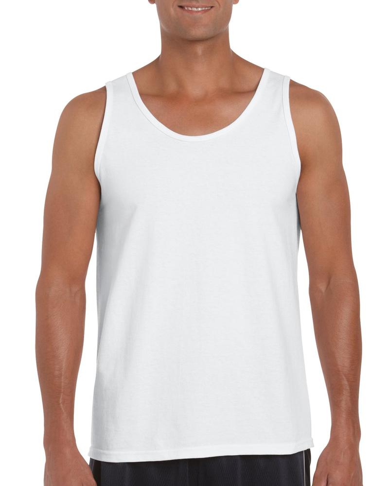 90d889d353 $14.50 Gildan 2200 Ultra Cotton Tank Top with Tear Away Label #clothing  #clothes #dress #shirts #fashion #men #women #menswear #womensfashion  #womenswear ...