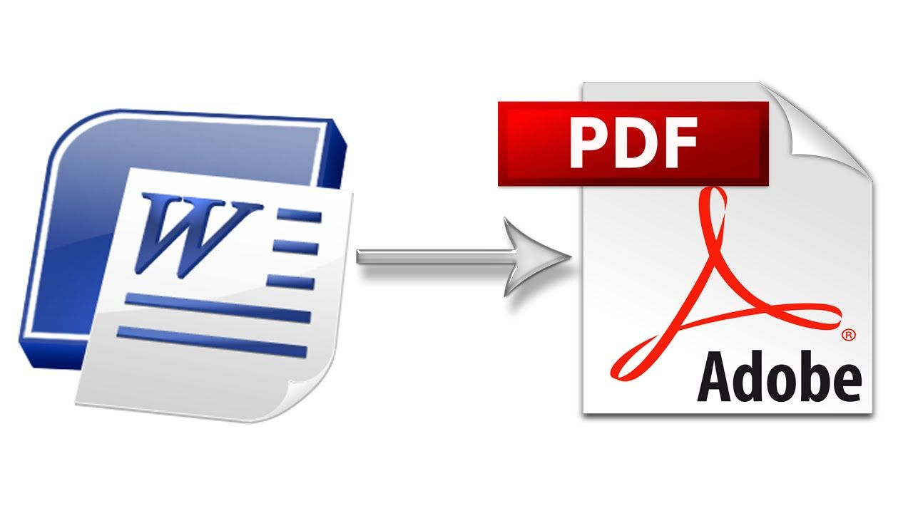 Free Word To PDF Converter How To Convert Word Documents
