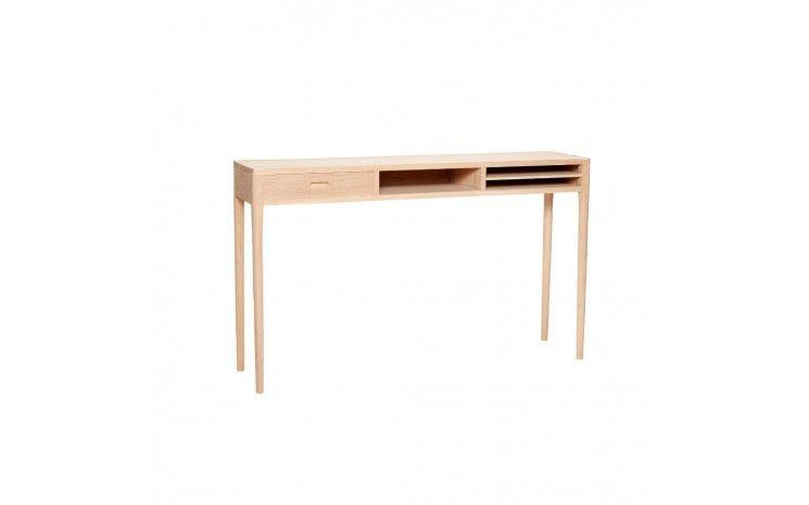 Bureau en bois design scandinave viana frene bureau en bois en