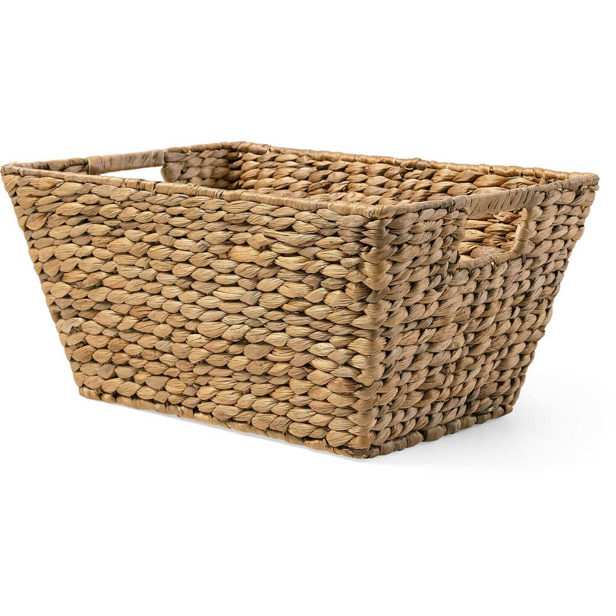 The House U0026 Home Large Rectangular Basket Is A Charming Way To Store Allu2026