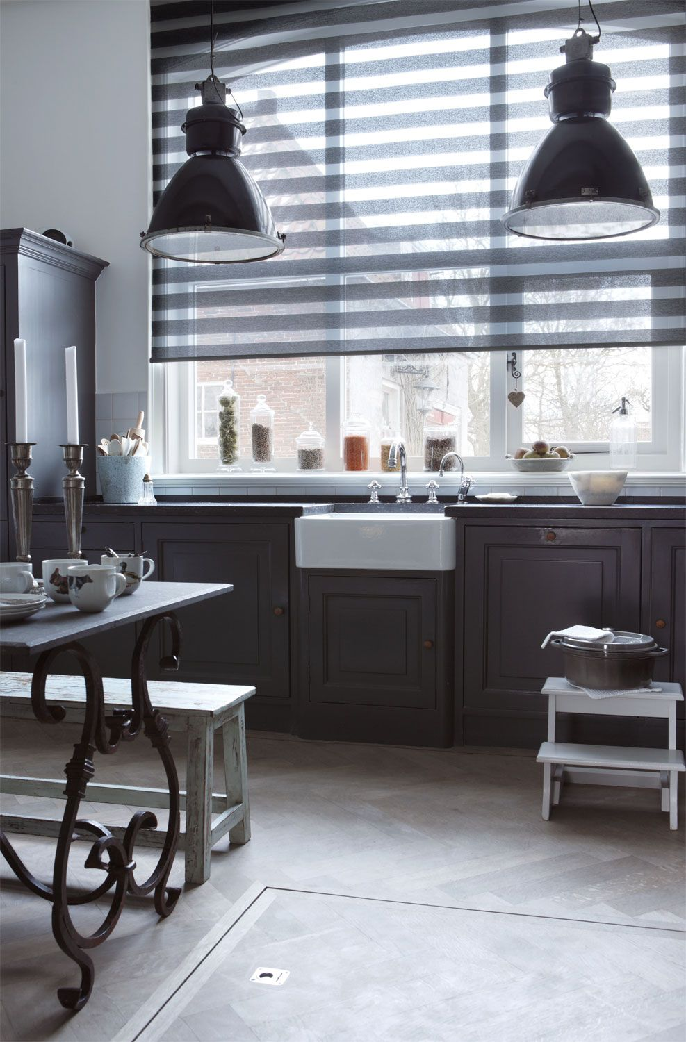roller shades look great and gently filter the light in a room