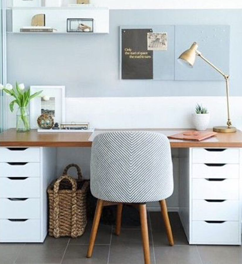 10 diy pour embellir ses meubles ikea home office pinterest bureaus desks and ikea hack. Black Bedroom Furniture Sets. Home Design Ideas