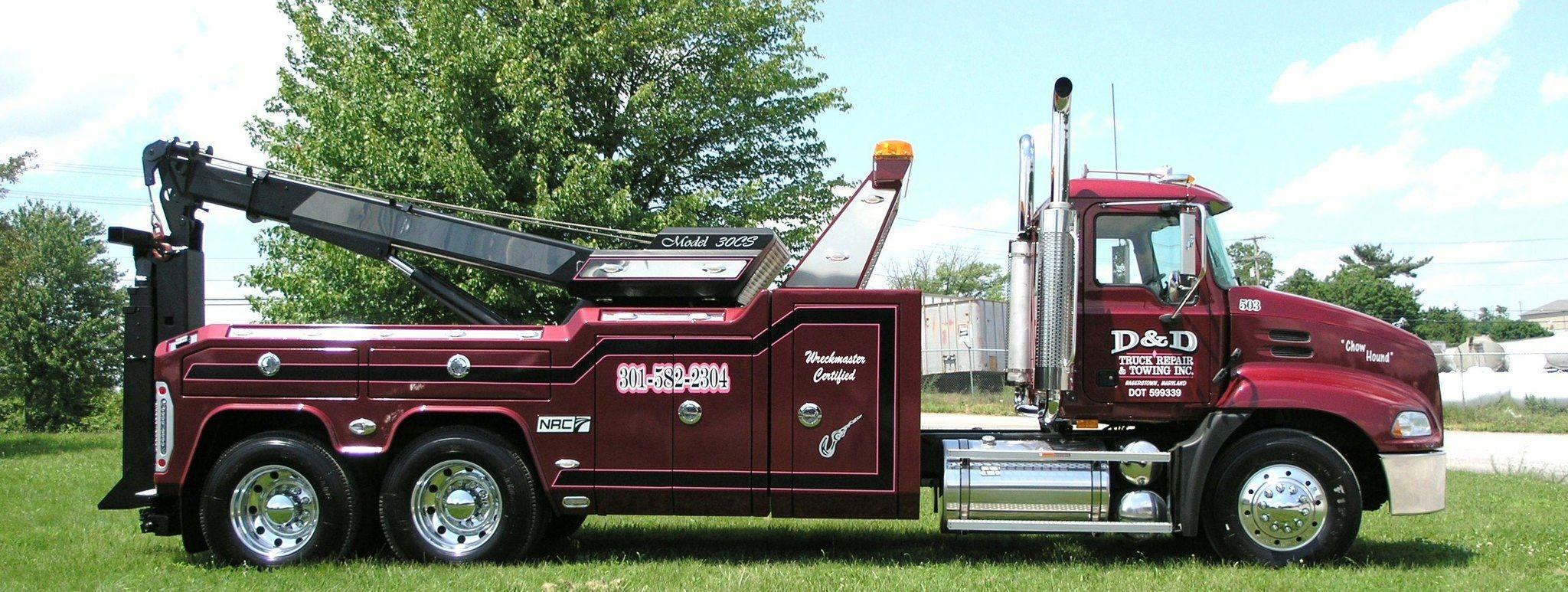 D & D Towing >> D D Truck Repair Towing Hagerstown Md Mack W Nrc 30cs