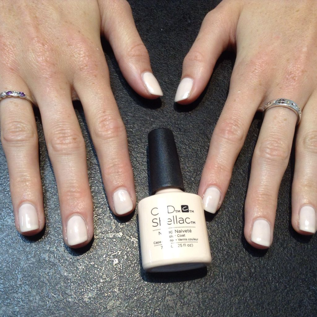Naked Naivety Shellac From The New Contradictions Collection Cnd Pinterest Shellac