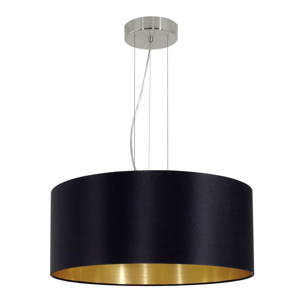 this eglo maserlo black large round pendant light (eglo   - this eglo maserlo black large round pendant light (eglo ) simplisticand modern light