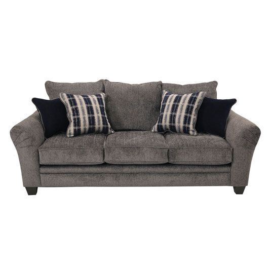 Tocotti Living Room Collection Sofa In Tracker Slate Gray Blue