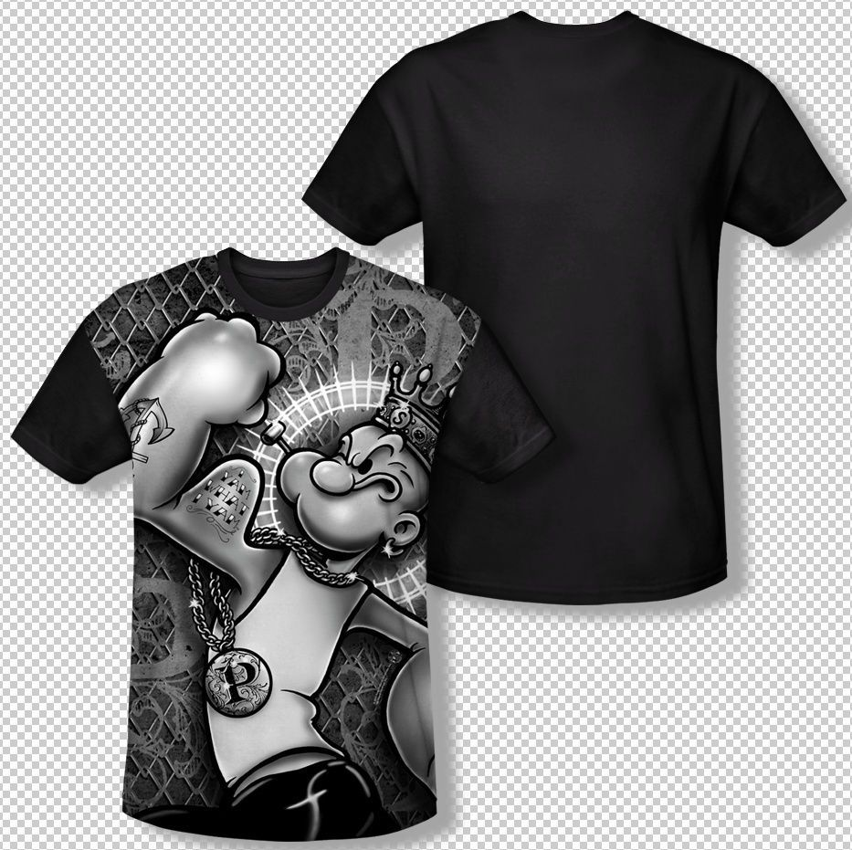 Popeye Spinach Power Youth T-Shirt